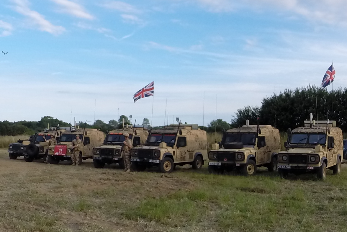 Camp SOC on manoeuvres