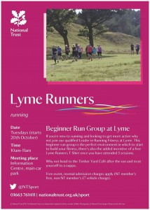 Come running at Lyme Park