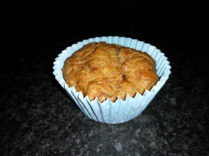 Sugar free chocolate chip muffin