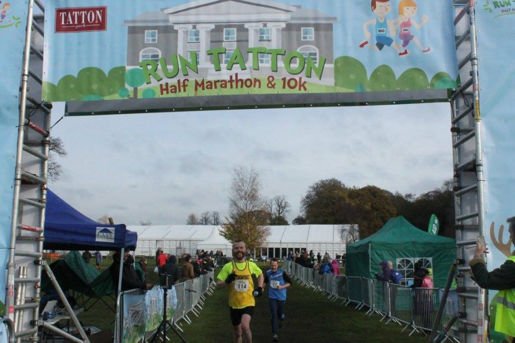 Run Tatton - finish