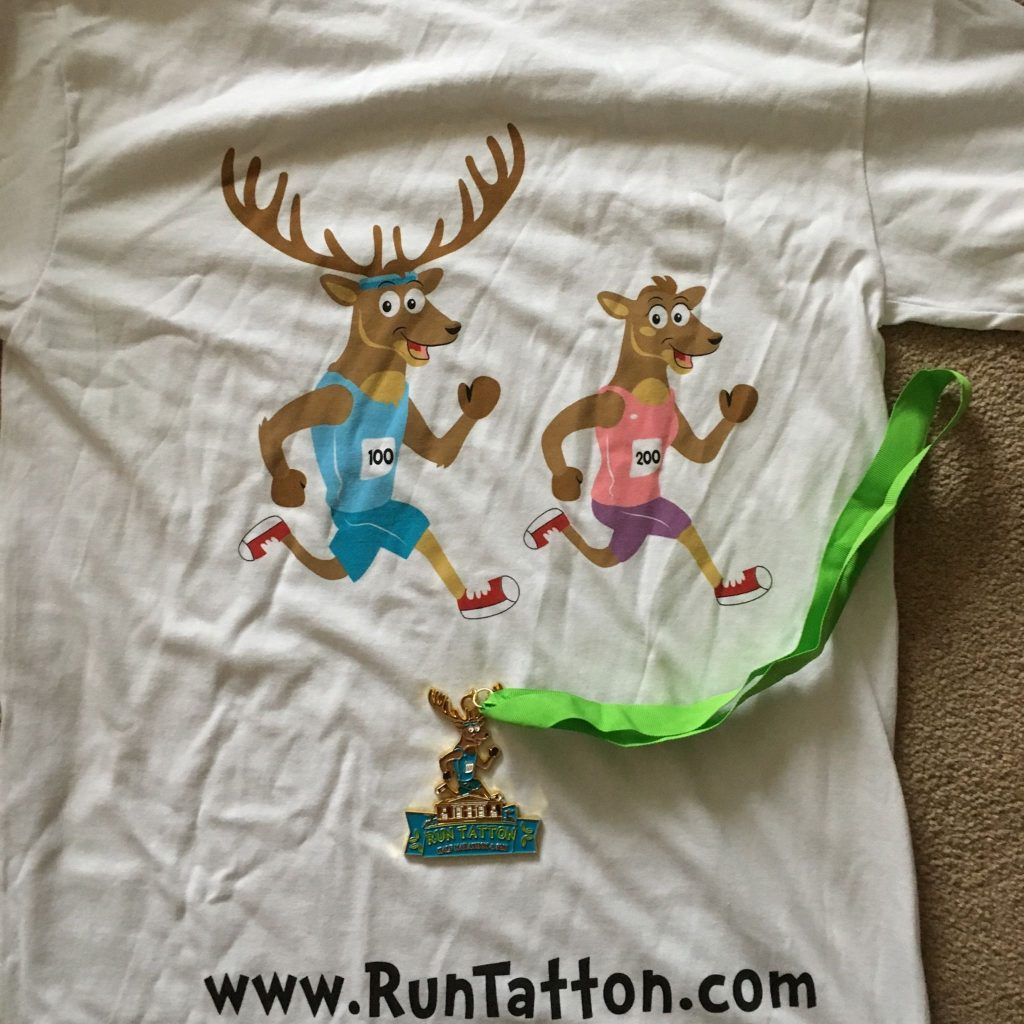 Run Tatton T-Shirt and Metal