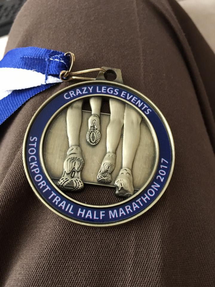 Stockport Trail Half - Medal