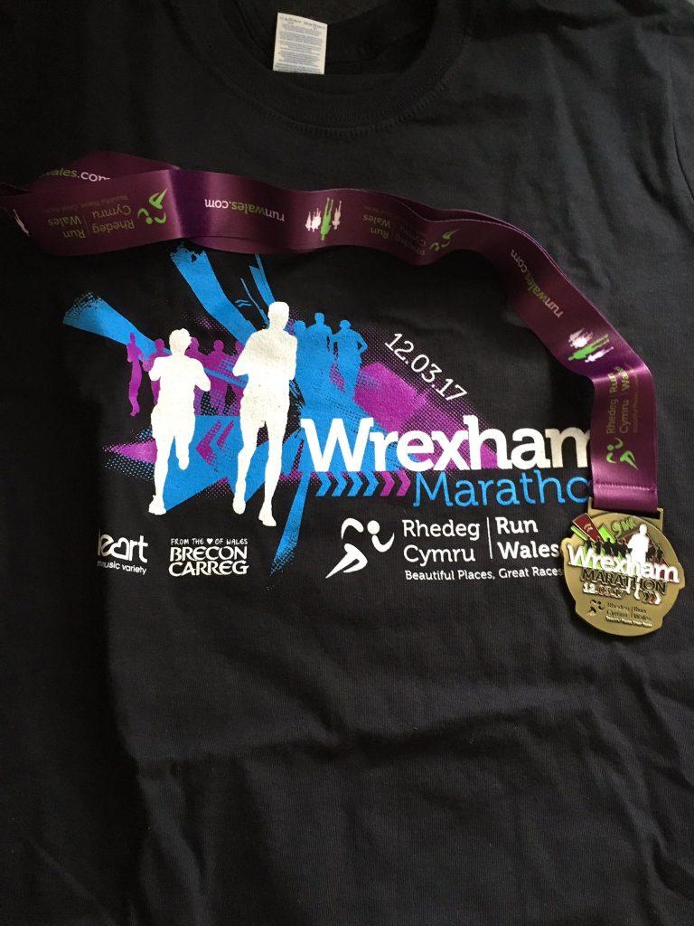 Wrexham Marathon Festival - Medal & T-Shirt