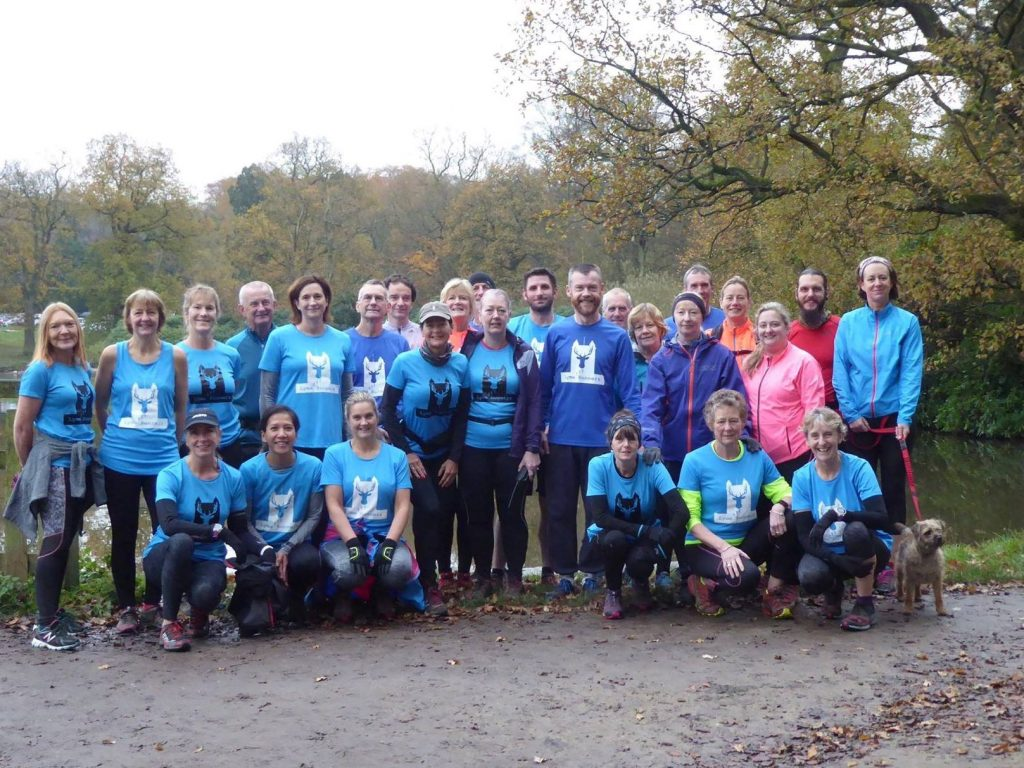 Lyme Runners in November 2017