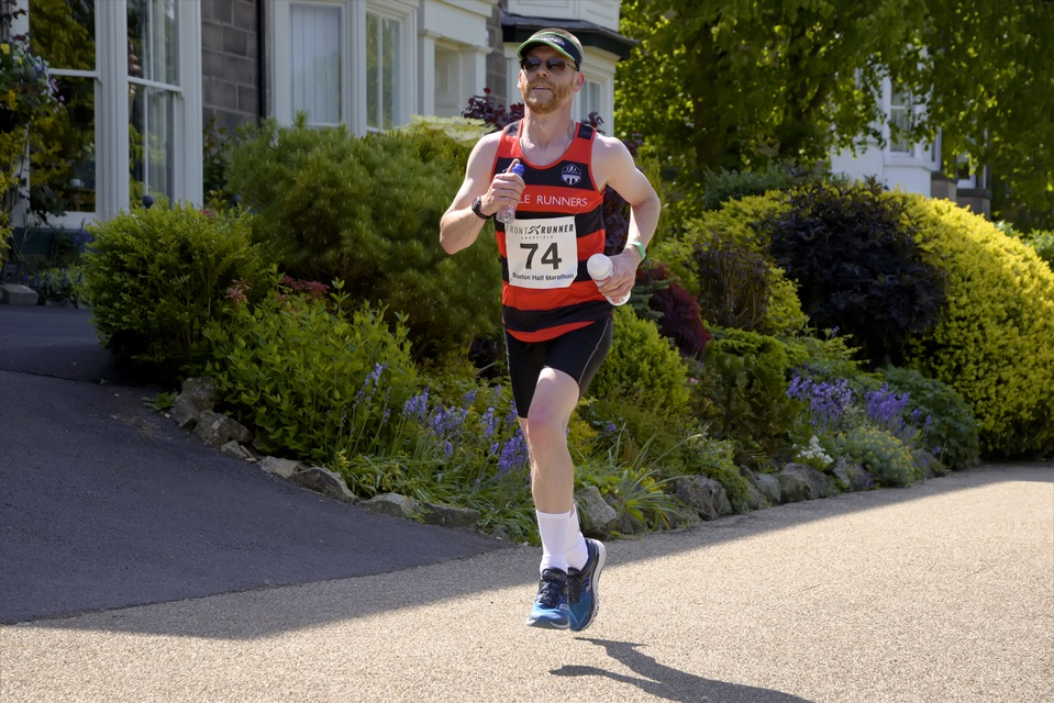 Buxton Half Marathon - 400m from the finish