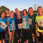 Lyme Runners after the race