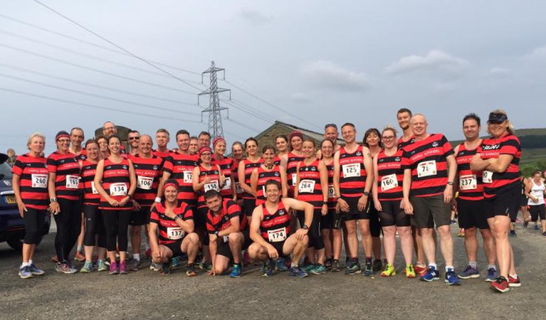 Marple Runners at Round the Resers 5