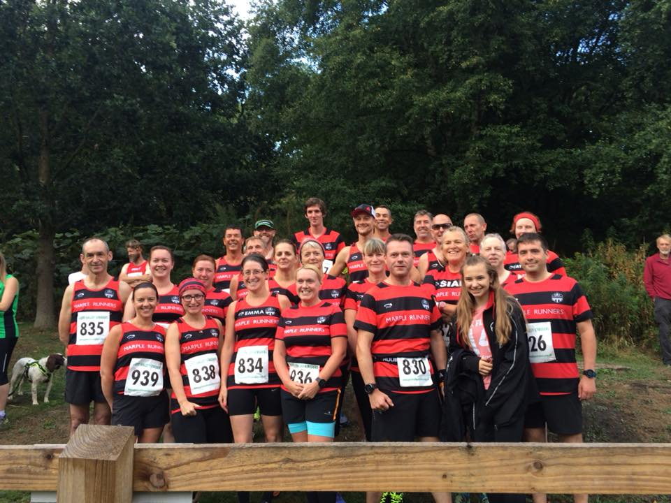 Marple Runners at Eccles Pike Fell Race