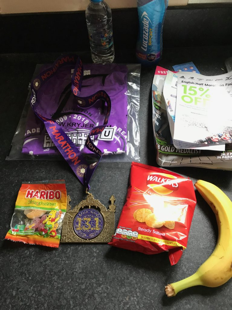 EHM finishers bag