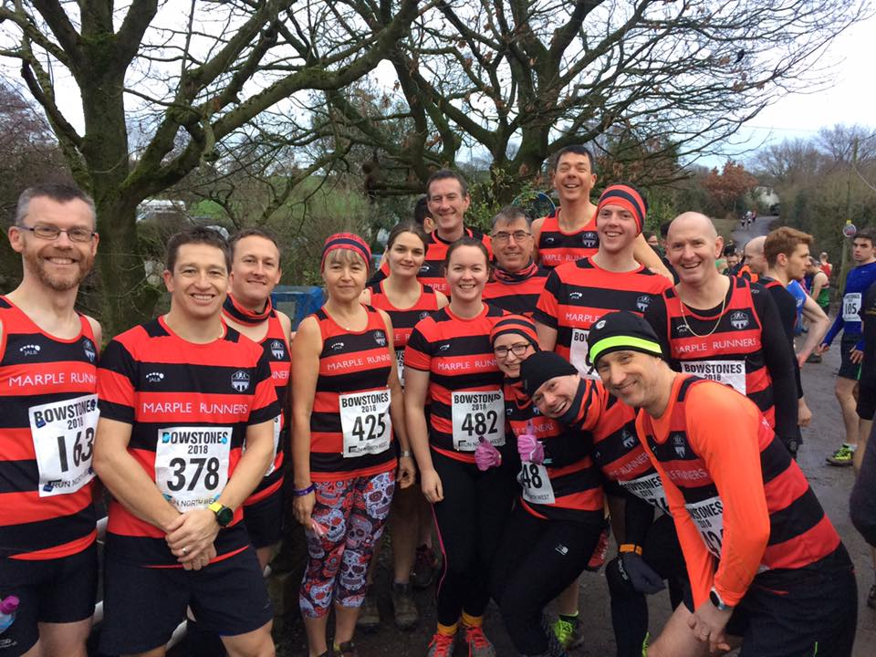 Marple Runners at Bowstones Fell Race