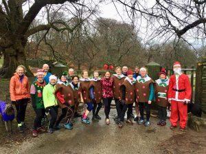 Lyme Runners at Christmas