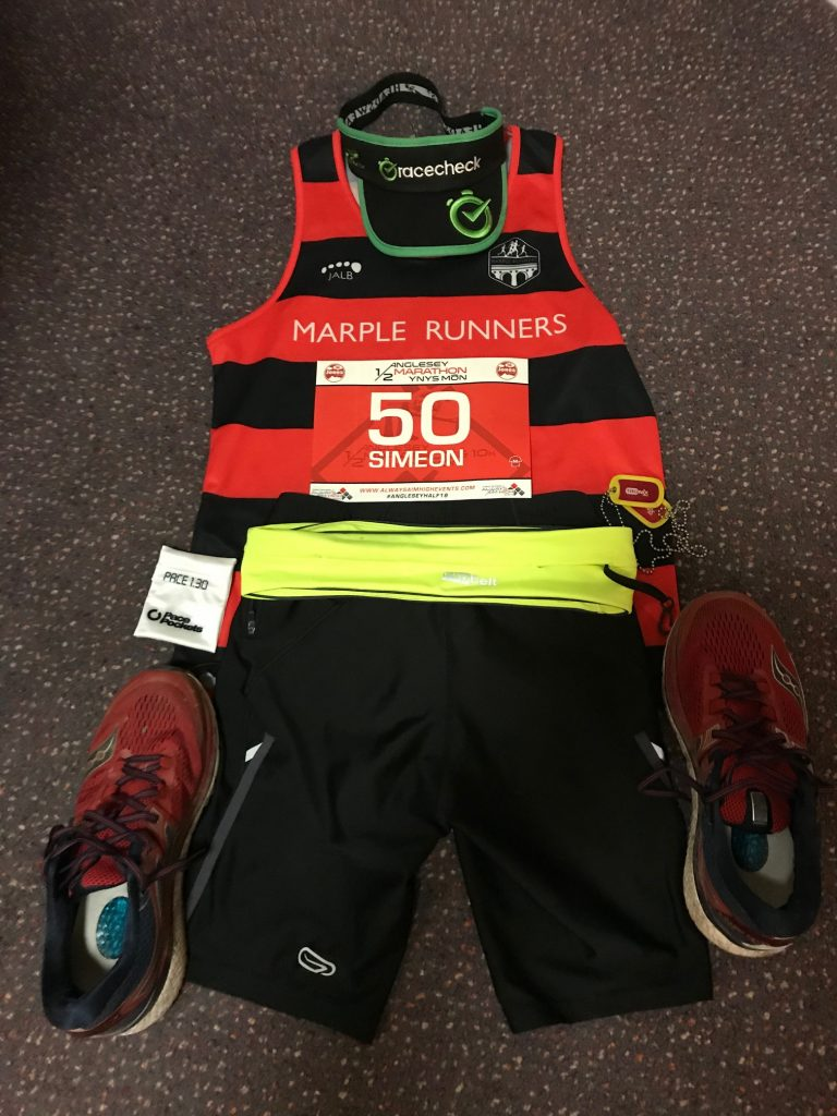 Anglesey Half Marathon 2019 #flatlay