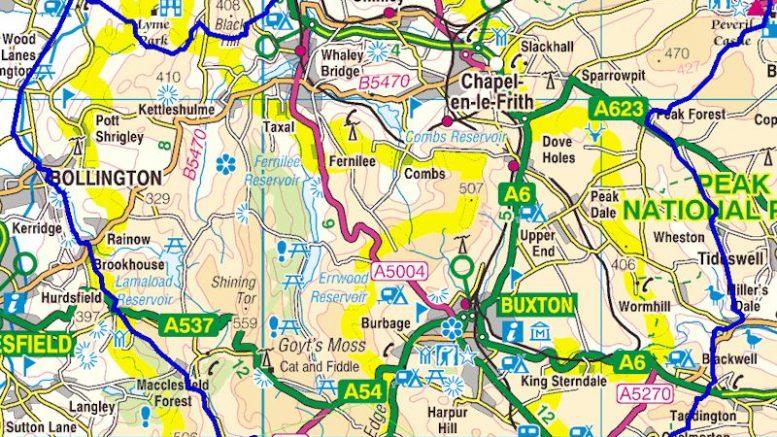 Bullock Smithy Hike map