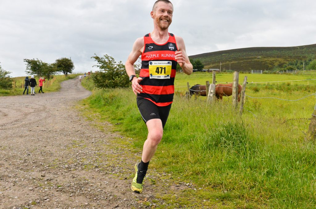 Off-tarmac on the Hell on the Fell race