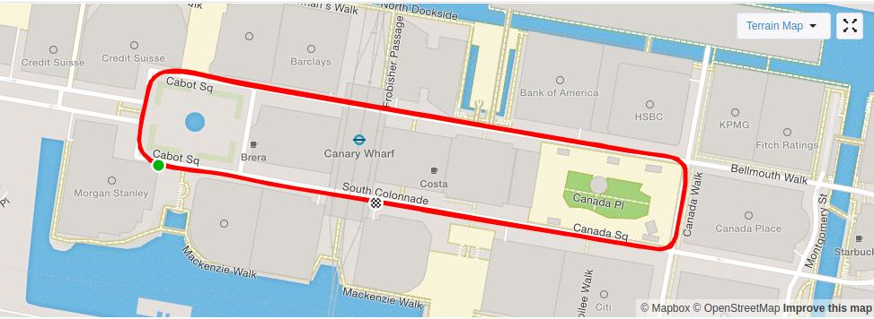 Canary Wharf. A lot